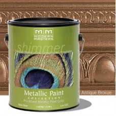 Antique Bronze Metallic Paint Quart