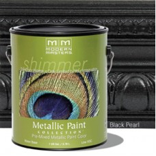 Black Pearl Metallic Paint Gallon