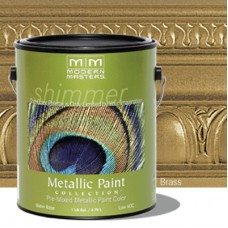 Brass Metallic Paint Gallon