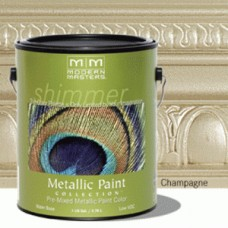 Champagne Metallic Paint Gallon