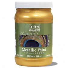Pale Gold Metallic Paint Quart