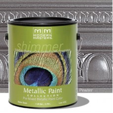 Pewter Metallic Paint Quart
