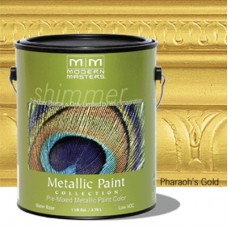 Pharaoh's Gold Metallic Paint Gallon