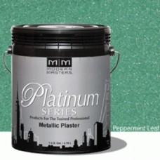 Peppermint Leaf Metallic Plaster Quart