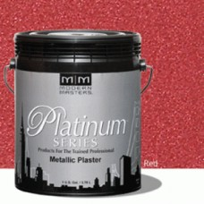 Red Metallic Plaster Gallon