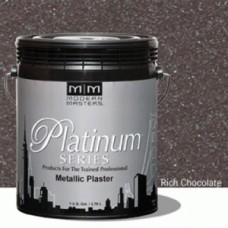 Rich Chocolate Metallic Plaster Gallon