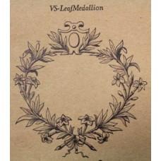 Leaf Medallion Stencil