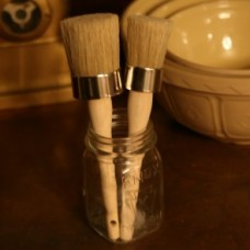 Fiddes Wax Application Brush Small