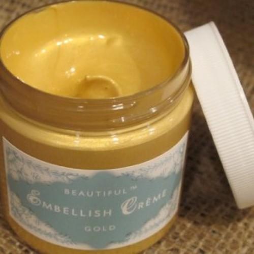 Beautiful Gold Embellishing Cream