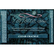 Clear Crackle Quart