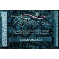 Clear Crackle Gallon