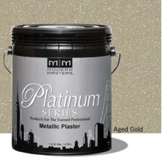 Aged Gold Metallic Plaster Gallon