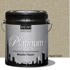 Aged Gold Metallic Plaster Gallon