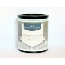 Maintenance oil White 1/2 pint