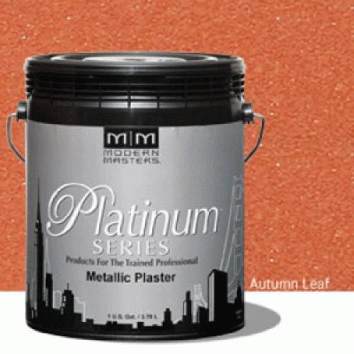 Autumn Leaf Metallic Plaster Gallon