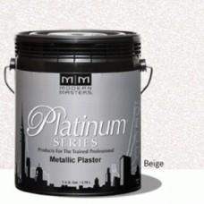 Beige Metallic Plaster Gallon