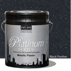 Black Panther Metallic Plaster Gallon