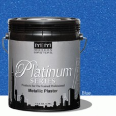 Blue Metallic Plaster Gallon