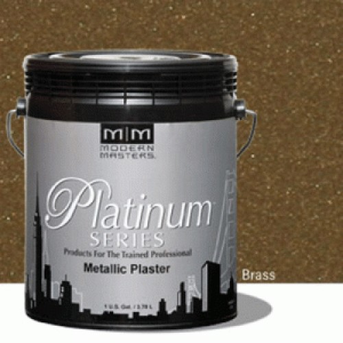 Brass Metallic Plaster Gallon