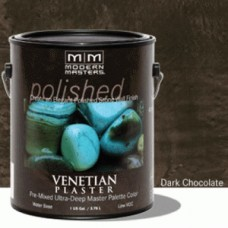 Dark Chocolate Venetian Plaster
