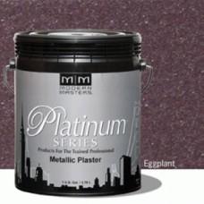 Eggplant Metallic Plaster