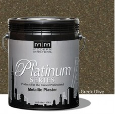 Greek Olive Metallic Plaster Gallon