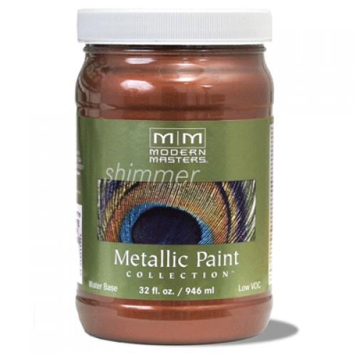 Antique Copper Metallic Paint Quart