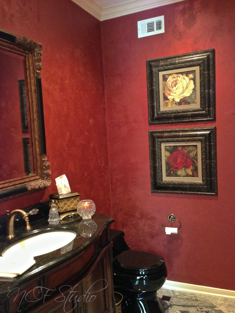 Red Metallic Plaster 768x1024